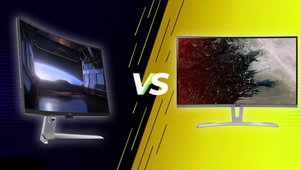 Изогнутый или плоский монитор - что лучше выбрать?