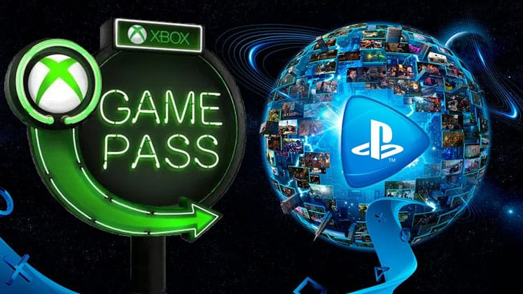 PlayStation Now или Xbox Game Pass