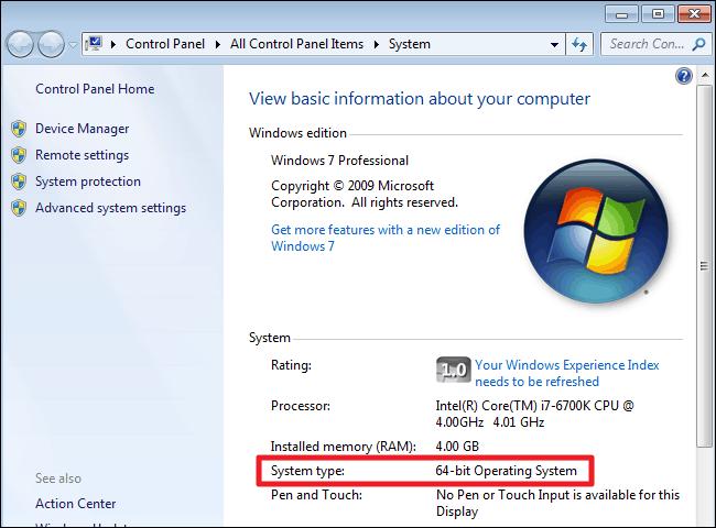 64-битная операционная система