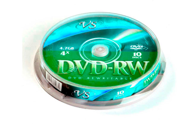 Компакт диск dvd rw