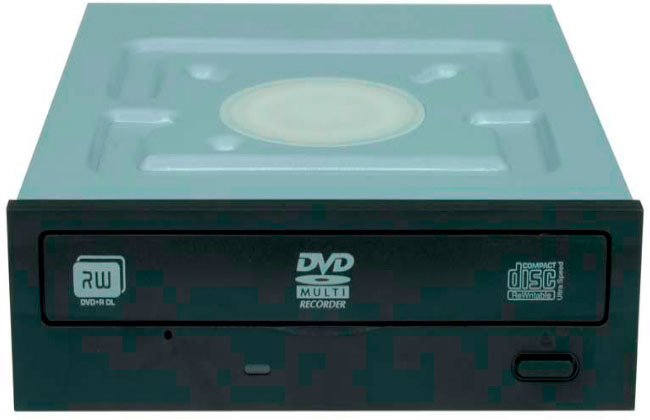 Передняя панель дисковода