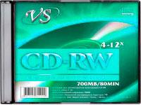 Перезаписываемый компакт диск CD-RW