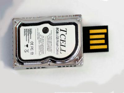 Флешка с дизайном жесткого диска