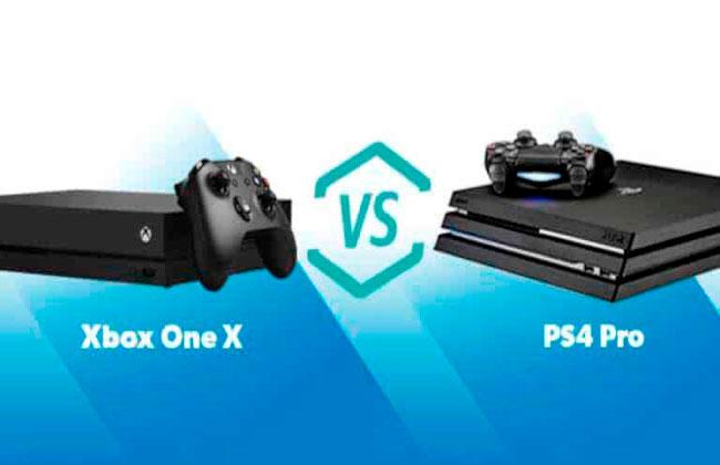 xbox one x или playstation 4 pro